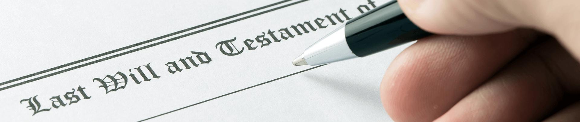 Wills & Probate Insurance